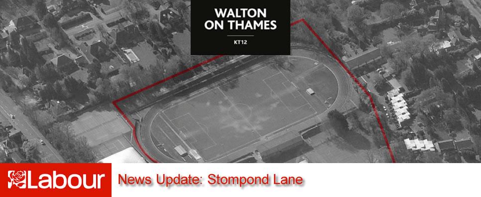 Stompond Lane News Update