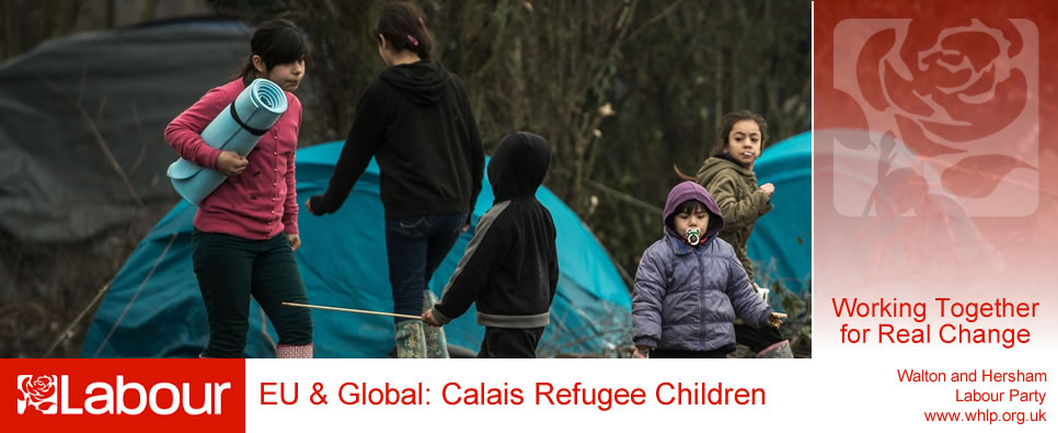 Walton and Hersham Labour Party | Calais Refugee Children