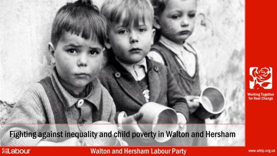 Walton and Hersham Labour Party | Fighting against inequality and child poverty in walton and hersham