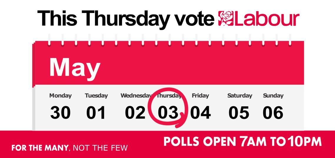 Polling day reminder pg1